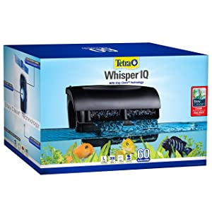 Whisper IQ power filter for aquariums, with quiet technology review