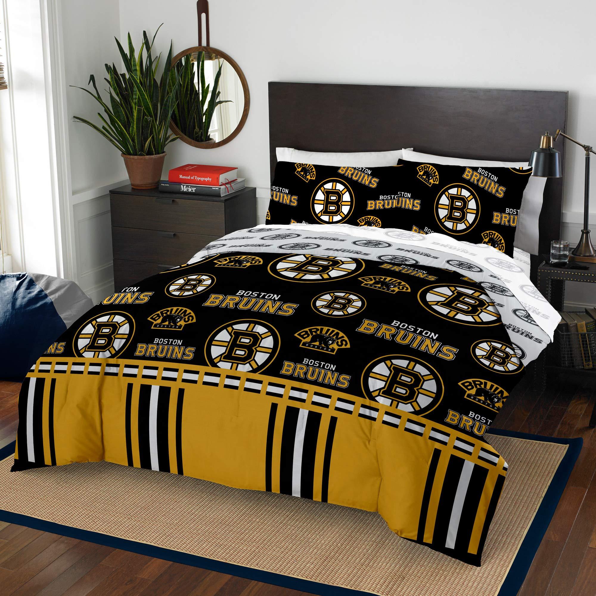 Official BostonBruins Queen Bed in Bag Set