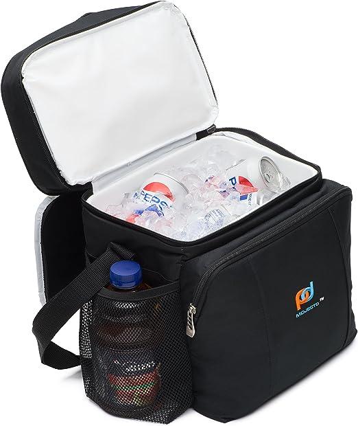 Amazon.com: Bolsa de almuerzo con dos compartimentos con ...