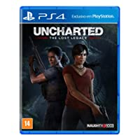 Uncharted the Lost Legacy - Padrão - PlayStation 4