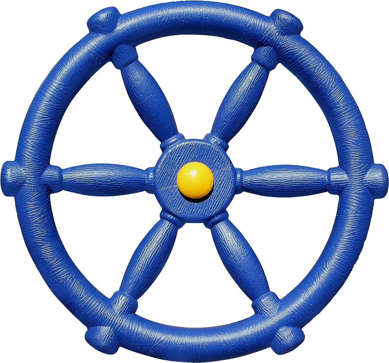 Swing Set Stuff Childrens Steering Wheel with SSS Logo Sticker Blue