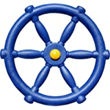 Jungle Gym Kingdom - Pirate Ship Wheel for Kids - Playground Accessories - Plastic Accessory for Outdoor Playhouse…