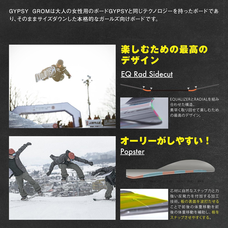 d4eb33f271 Amazon.com : Salomon Snowboards Gypsy Grom Snowboard - Girls ...