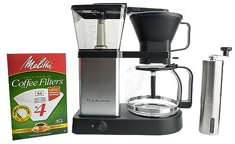 Amazon.com: Redline MK1 - Cafetera de 8 tazas con jarra de ...