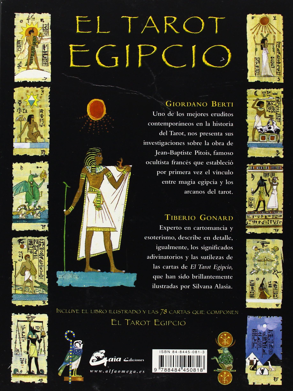 EL TAROT EGIPCIO: Amazon.es: GIORDANO BERTI, TIBERIO GONARD ...