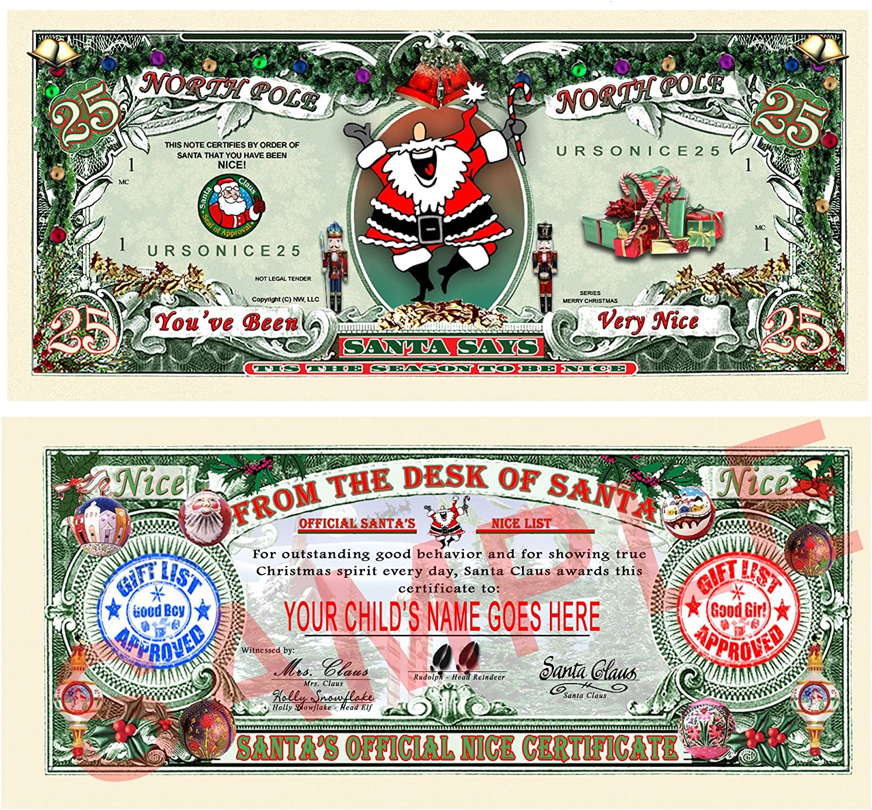 Doctor Christmas Appreciation Diploma Santa Claus Xmas