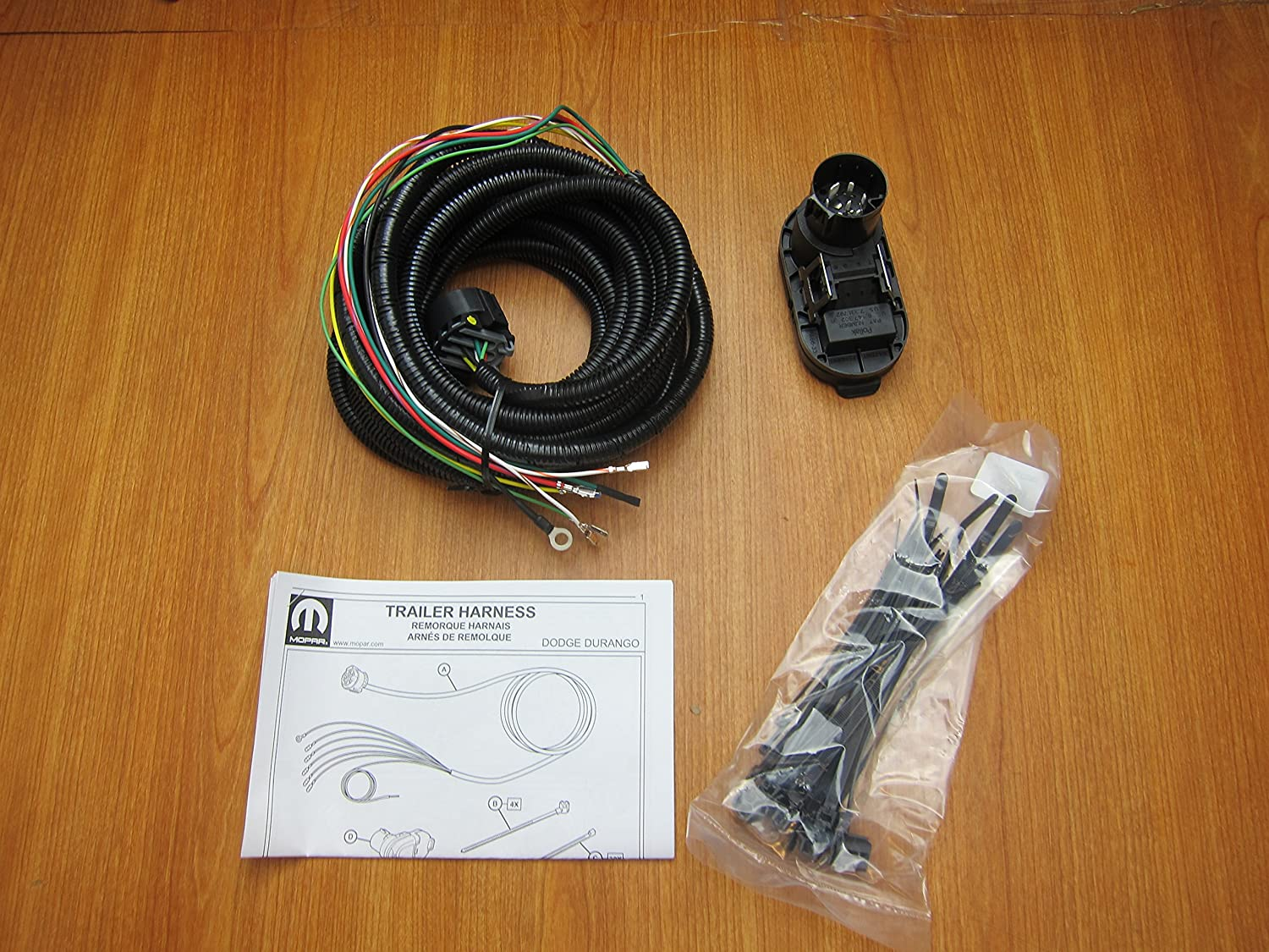 Fantastic Amazon Com Dodge Durango Trailer Tow Hitch Wiring Harness Kit Mopar Wiring Digital Resources Funapmognl
