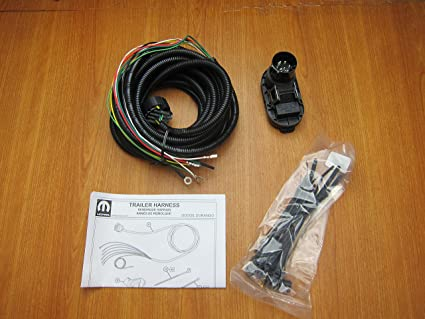 amazon com dodge durango trailer tow hitch wiring harness kit moparimage unavailable image not available for color dodge durango trailer tow hitch wiring harness
