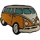 Giftworks VW Campervan Doormat Orange