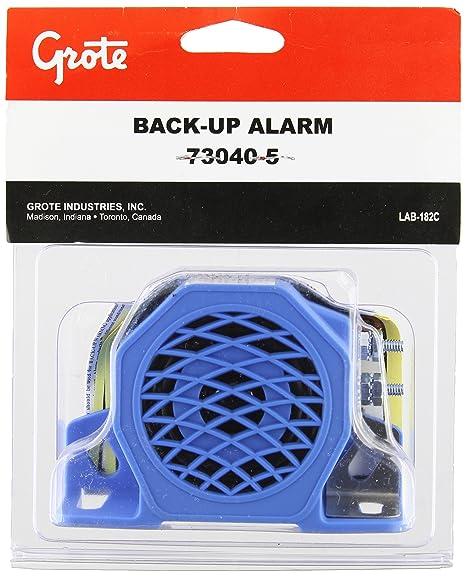 amazon com grote 73040 5 medium low noise surround backup alarm rh amazon com backup alarm wiring backup alarm wiring diagram