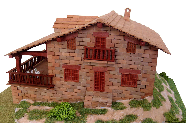 Keranova Popular Housing 1975 Pieces Cantabria 2 House Model 22 x 15.5 x 14 cm