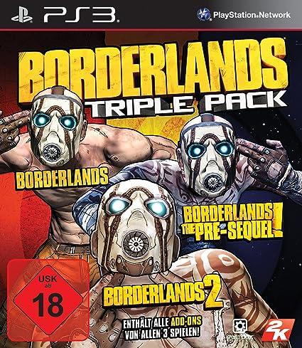 Borderlands: Triple Pack [Importación Alemana]: Amazon.es: Videojuegos