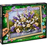 Schipper - 609130717 - Summer Flowers - Tableau à Dessin - Taille 40 x 50 cm