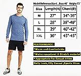 Akilex Men's Long Sleeve Tech Stretch T-Shirt