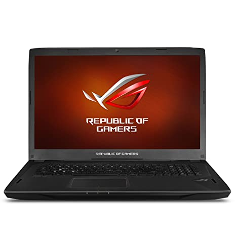 ASUS ROG Strix G-SYNC 120 Hz Full HD VR Ready Ultra Thin and Light Gaming  Laptop Computer GeForce GTX 1070 8GB Core i7-7700HQ, 16GB DDR4 DRAM, 128GB