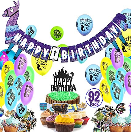 Astonishing 3 Foil Balloons The Ultimate Gamer Birthday Party Set For Boys And Funny Birthday Cards Online Inifodamsfinfo
