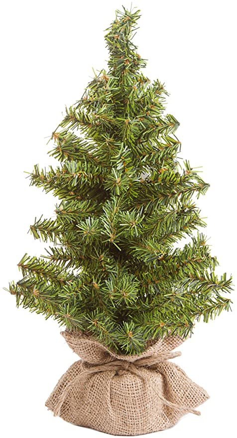 Beautiful Amazon.com: Canadian Tree with Burlap Base - 108 Tips - 15 inches  ZK69