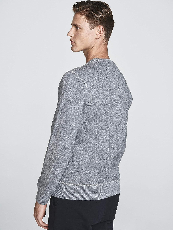 NORTH SAILS Brushed Cotton Sweatshirt Grey 0928