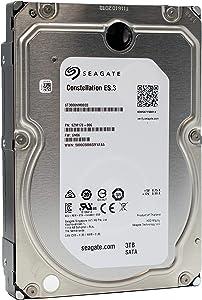"Seagate Constellation ES.3 | ST3000NM0033 | 3TB 7.2K RPM 128 MB Cache 3.5"" SATA 6Gb/s | Enterprise Internal Hard Disk Drive HDD"