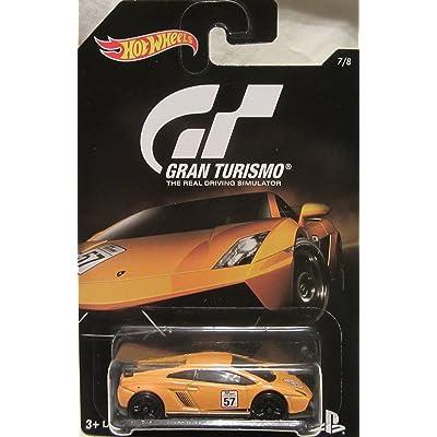Hot Wheels 2016 Gran Turismo Lamborghini Gallardo Model LP 570-4 Superleggera 7/8, Orange: Toys & Games