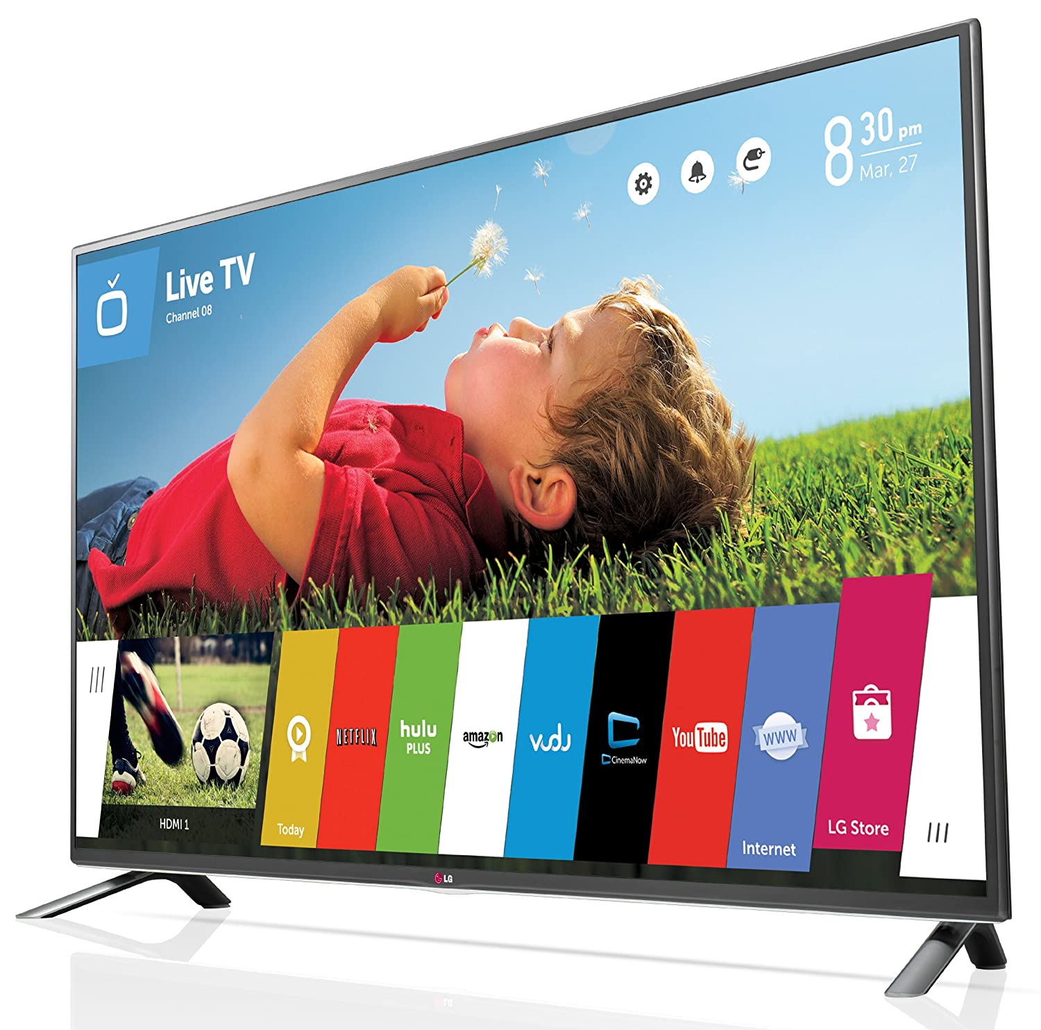 lg led tv. amazon.com: lg electronics 55lb6300 55-inch 1080p smart led tv (2014 model): lg led tv