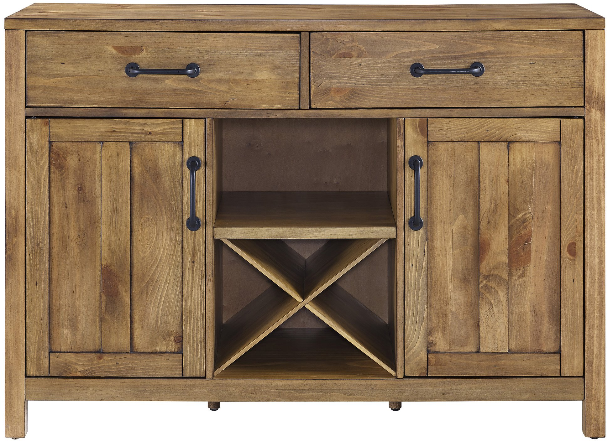 Crosley Furniture Roots Buffet Dining Room Storage - Natural by Crosley Furniture (Image #3)