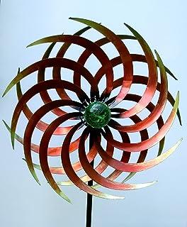 XL Solar Windrad ArtFerro Ibiza Solar Sonne Windspiel Gartendeko Deko Metall
