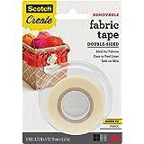 Scotch 可拆式双面织物胶带,1.91 cm x 12.70 cm (FTR-1-CFT)
