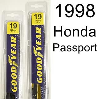 "product image for Honda Passport (1998) Wiper Blade Kit - Set Includes 19"" (Driver Side), 19"" (Passenger Side) (2 Blades Total)"