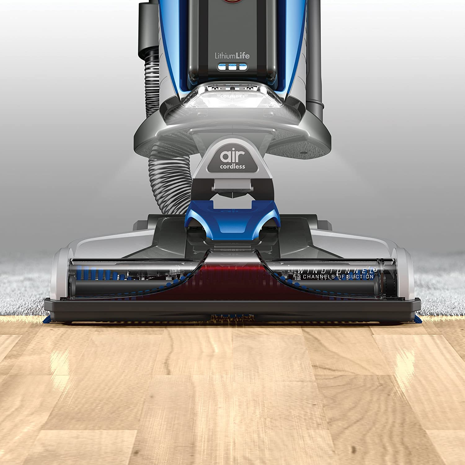 Hoover Air Cordless Lift Bagless Upright Vacuum, BH51120PC Review