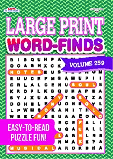 large print word finds puzzle book word search volume 220 kappa