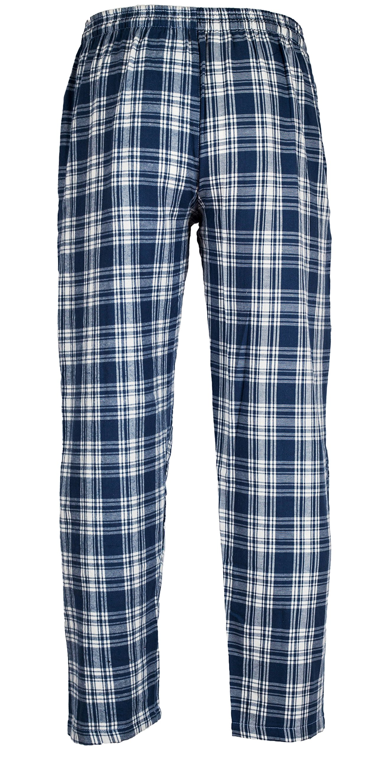 Andrew Scott Men's 3 Pack Cotton Flannel Fleece Brush Pajama Sleep & Lounge Pants (XL/40-42, 3 Pack - Classic Flannel Assorted Plaids) by Andrew Scott (Image #7)