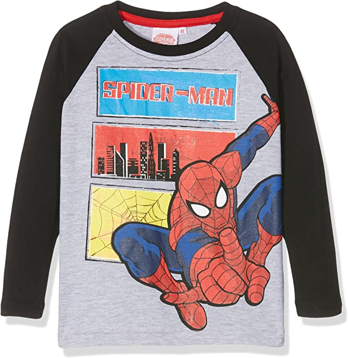 Kinder Spiderman Langarmshirt T-Shirt Pullover für Junge Child  Boy Sweater