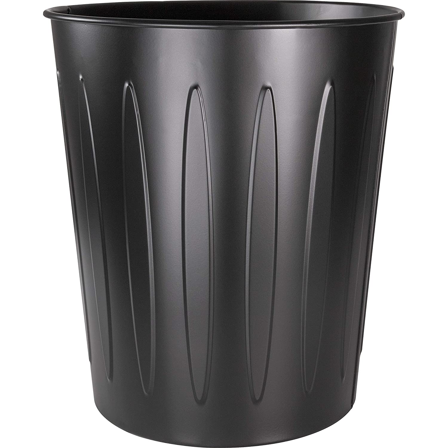 Genuine Joe Steel 6 Gallon Fire-Safe Trash Can