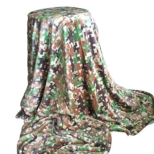 amazon com personalized blanket 5 x6 camouflage pattern custom