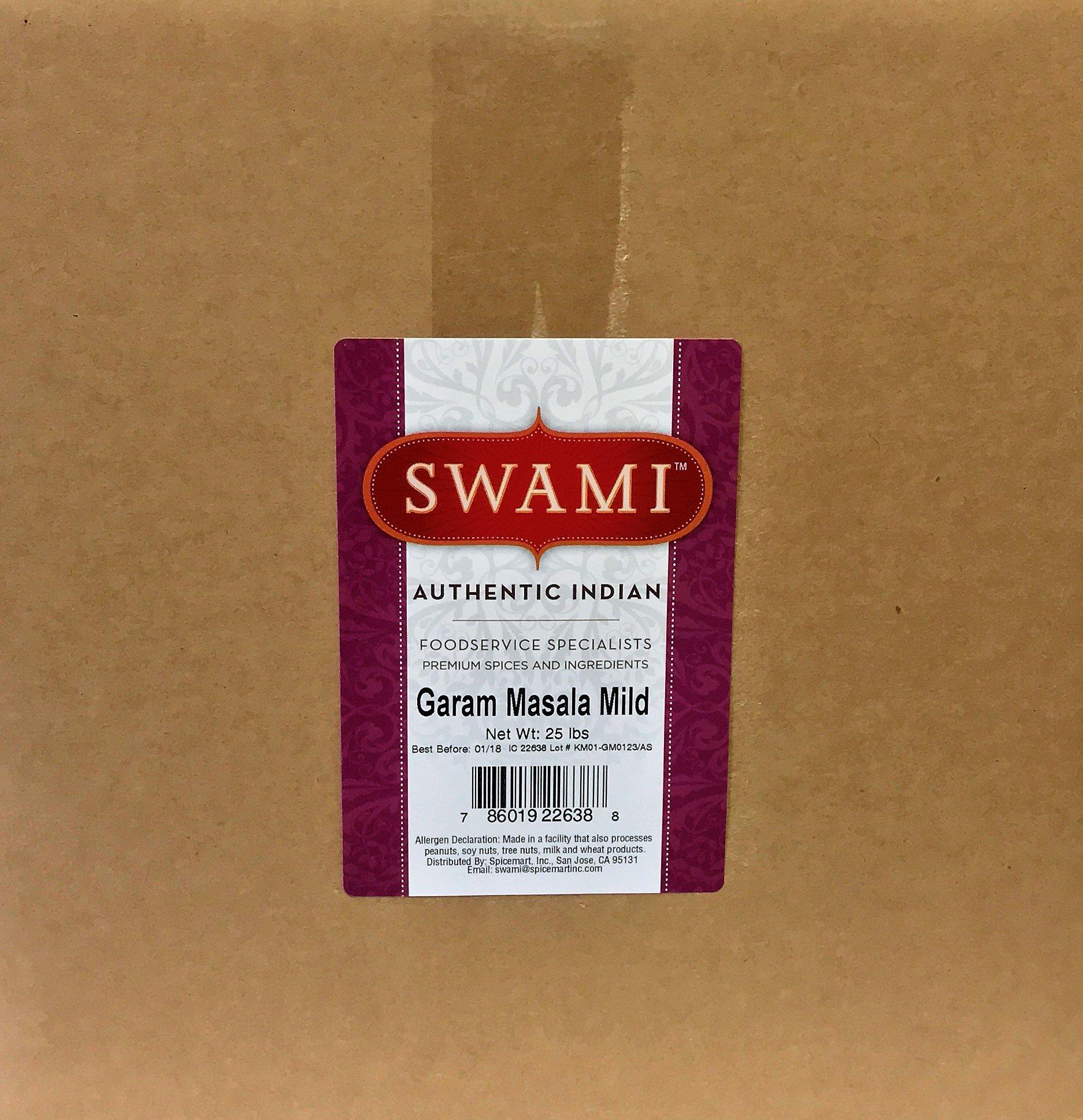 Swami Garam Masala(Mild) 25lb by Spicemart