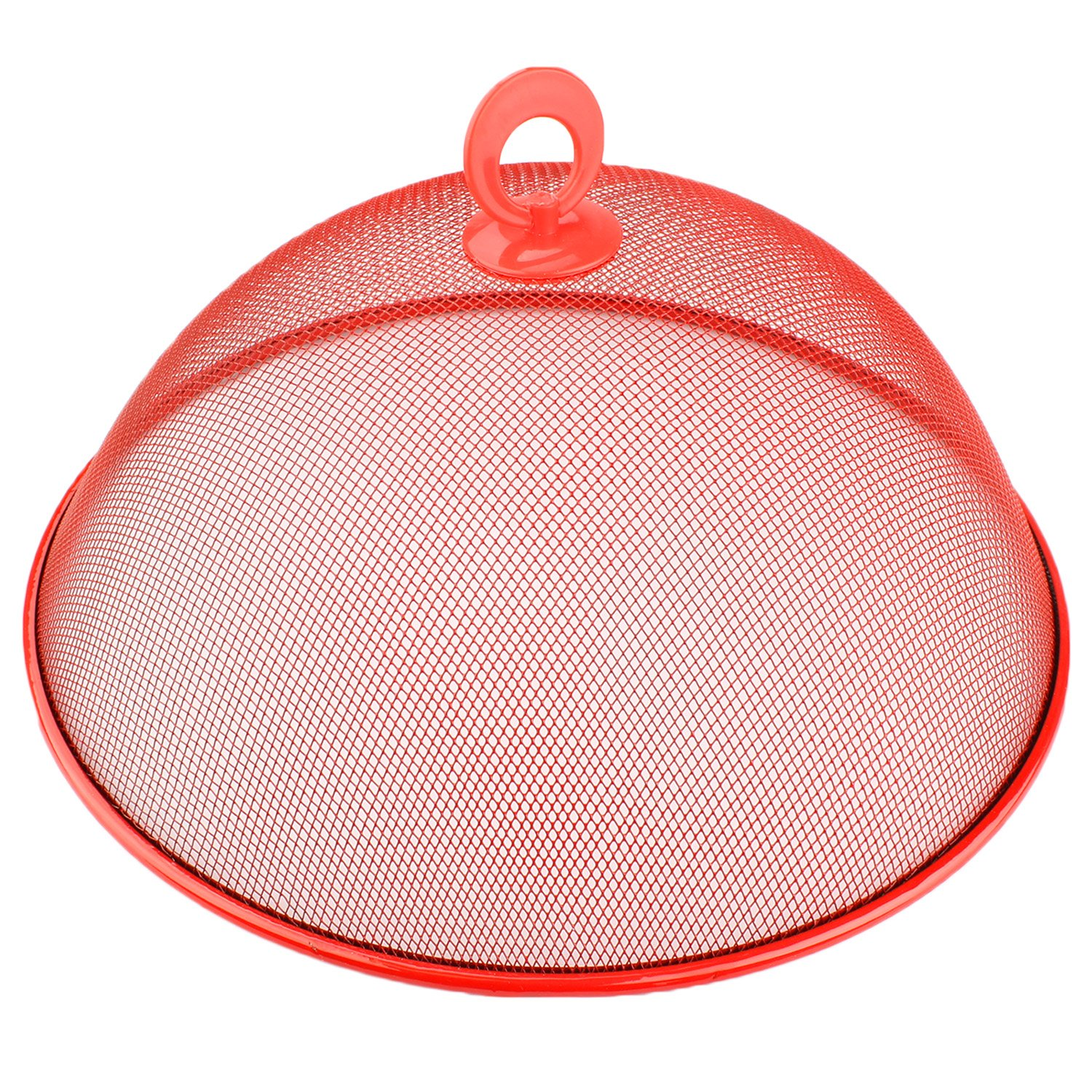 Red Mesh Screen Food Cover Tent Patio Picnic Protect Food & Keep