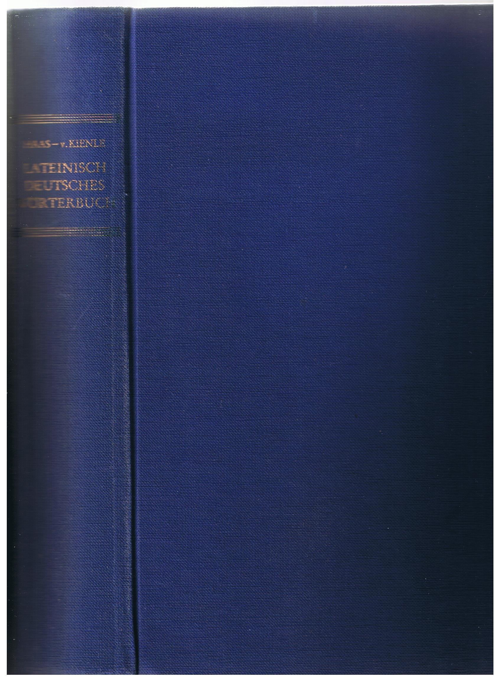 Lateinisch-deutsches Wörterbuch