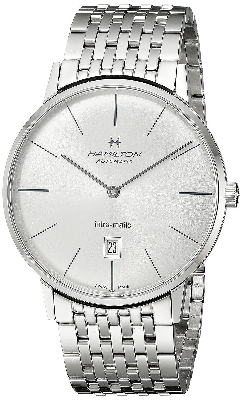 [ハミルトン]HAMILTON 腕時計 INTRA-MATIC 42mm(イントラマティック) H38755151 メンズ 【正規輸入品】 B008S3R6JY