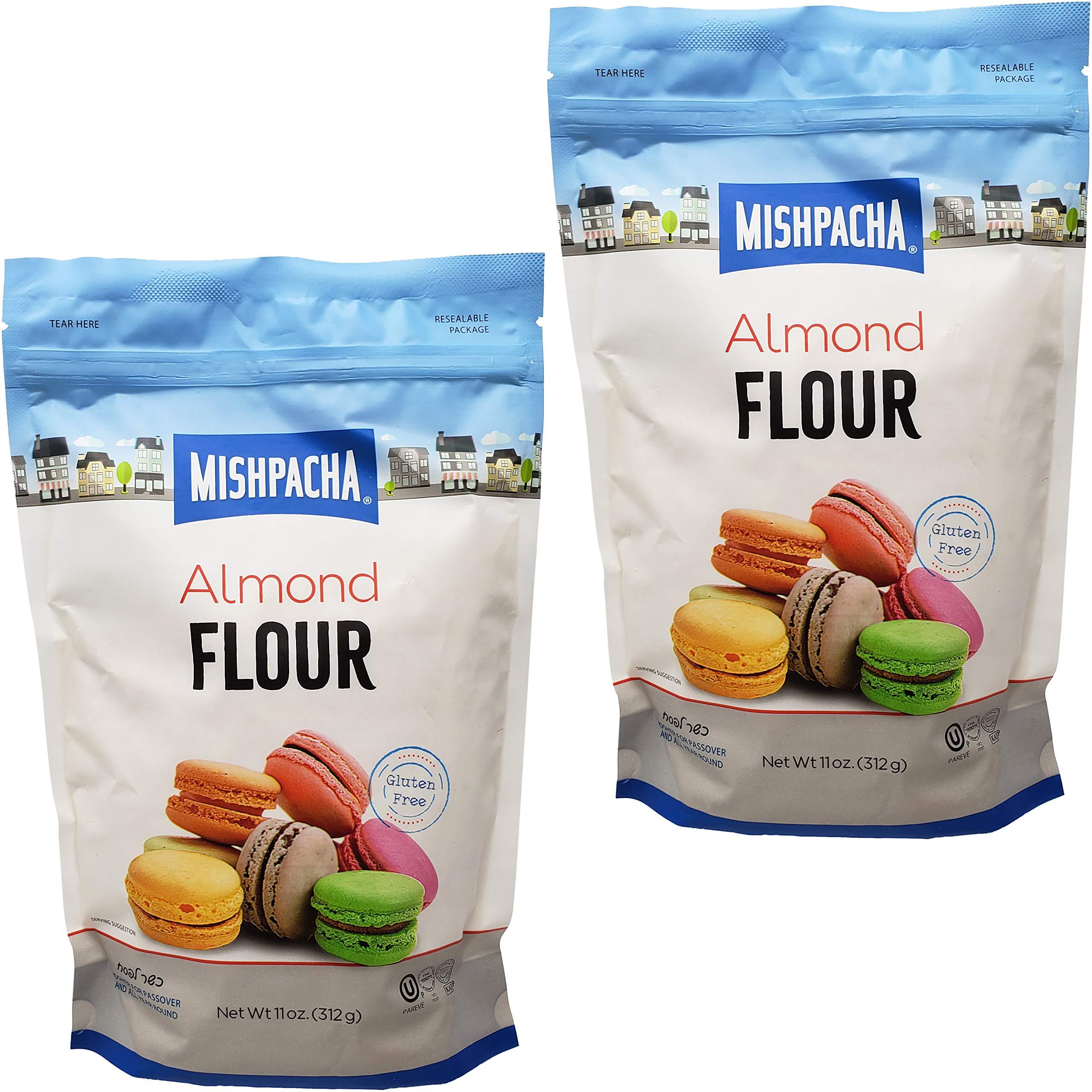 Mishpacha Almond Flour Bag, Kosher For Passover, Gluten-Free, 11 Ounce Bag (2-Pack)