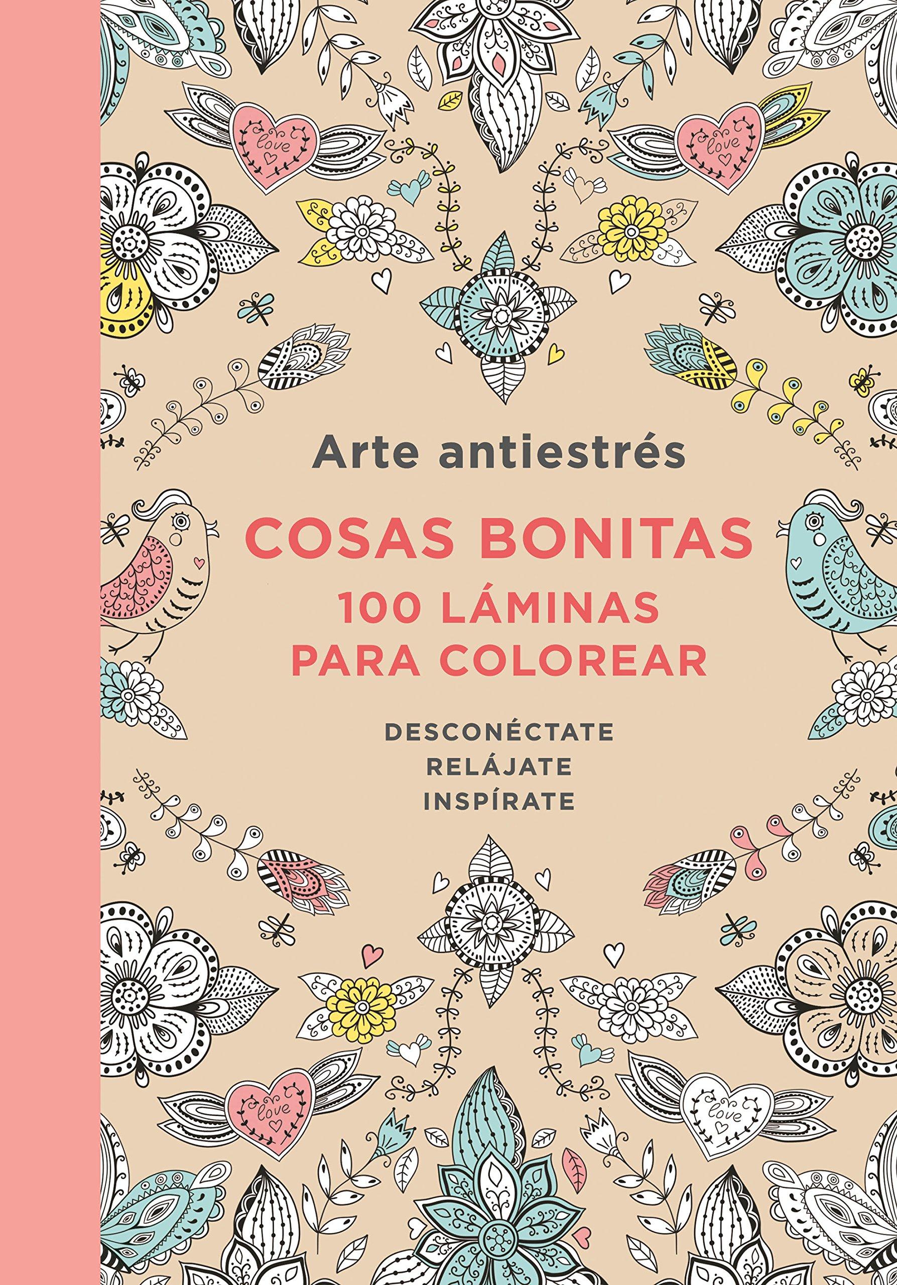 Arte Antiestres: Cosas Bonitas, 100 Laminas (Libro de colorear para  adultos): 100 láminas para colorear: Varios autores: Amazon.com.mx: Libros