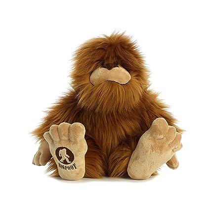 Amazon Com Aurora Big Foot 16 5 Plush Stuffed Animal Toys Games