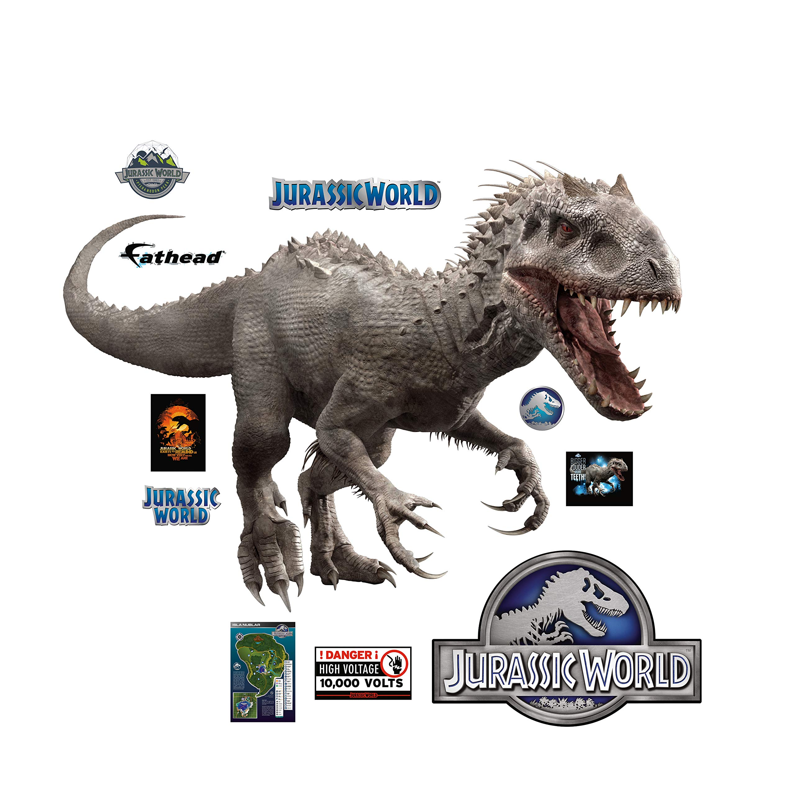 FATHEAD Indominus Rex: Jurassic World - X-Large Officially Licensed Removable Wall Decal by FATHEAD (Image #3)
