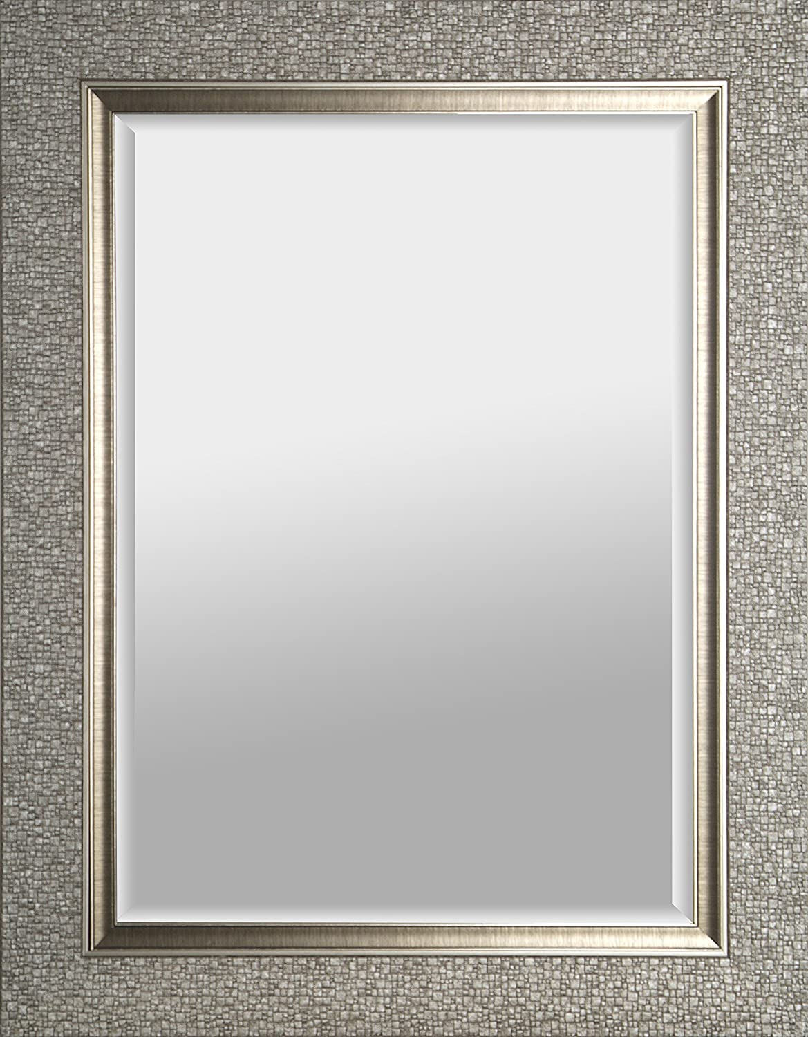 Amazon.com: Head West Crystal Mosaic Rectangle Mirror, 23-1/2 by 29 ...