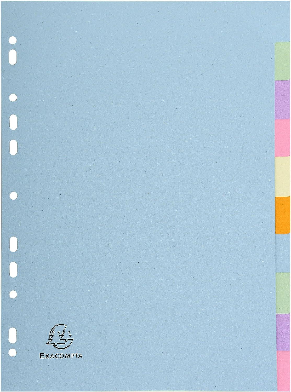 Leng/üeta de /índice Exacompta 1605E 210 mm, 297 mm