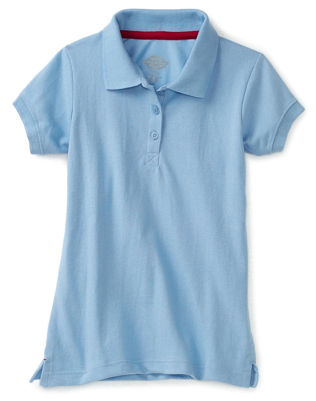 Dickies Girls Short Sleeve Pique Image 2
