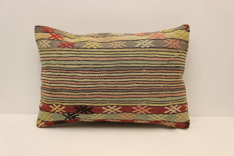 Decorative Pillow Kilim Pillow,Hemp Pillow,Throw Pillow 16x24 Gift Pillow,Ethnic Pillow,Off White Pillow Vintage Pillow 3812 Pillow Cover