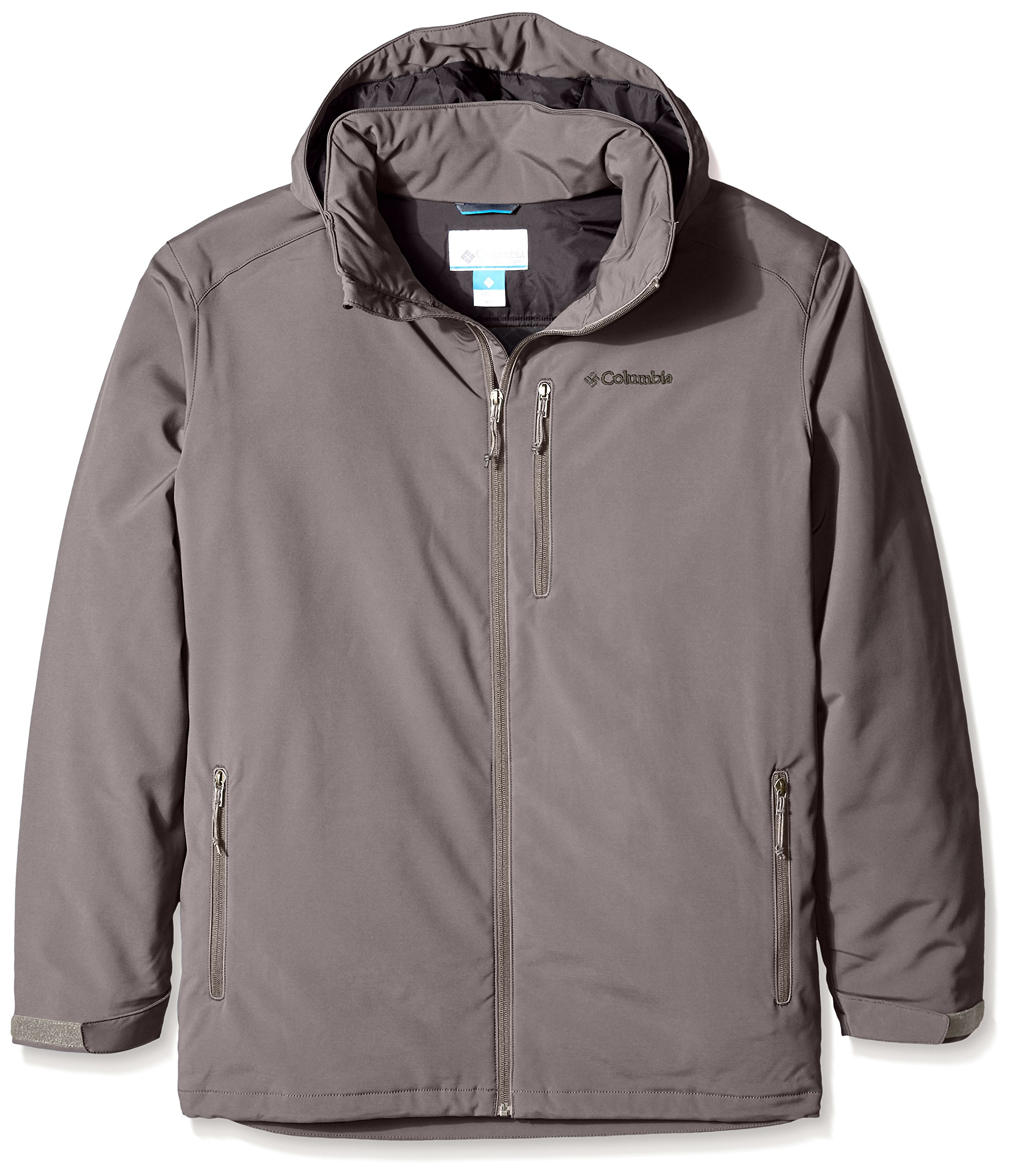 Columbia Men's Big & Tall Gate Racer Softshell Jacket, Boulder, Tall/Large by Columbia