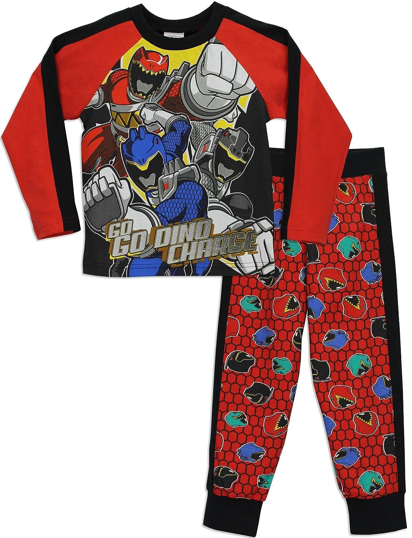 Power Rangers Jungen Power Rangers Schlafanzug Dino Charge