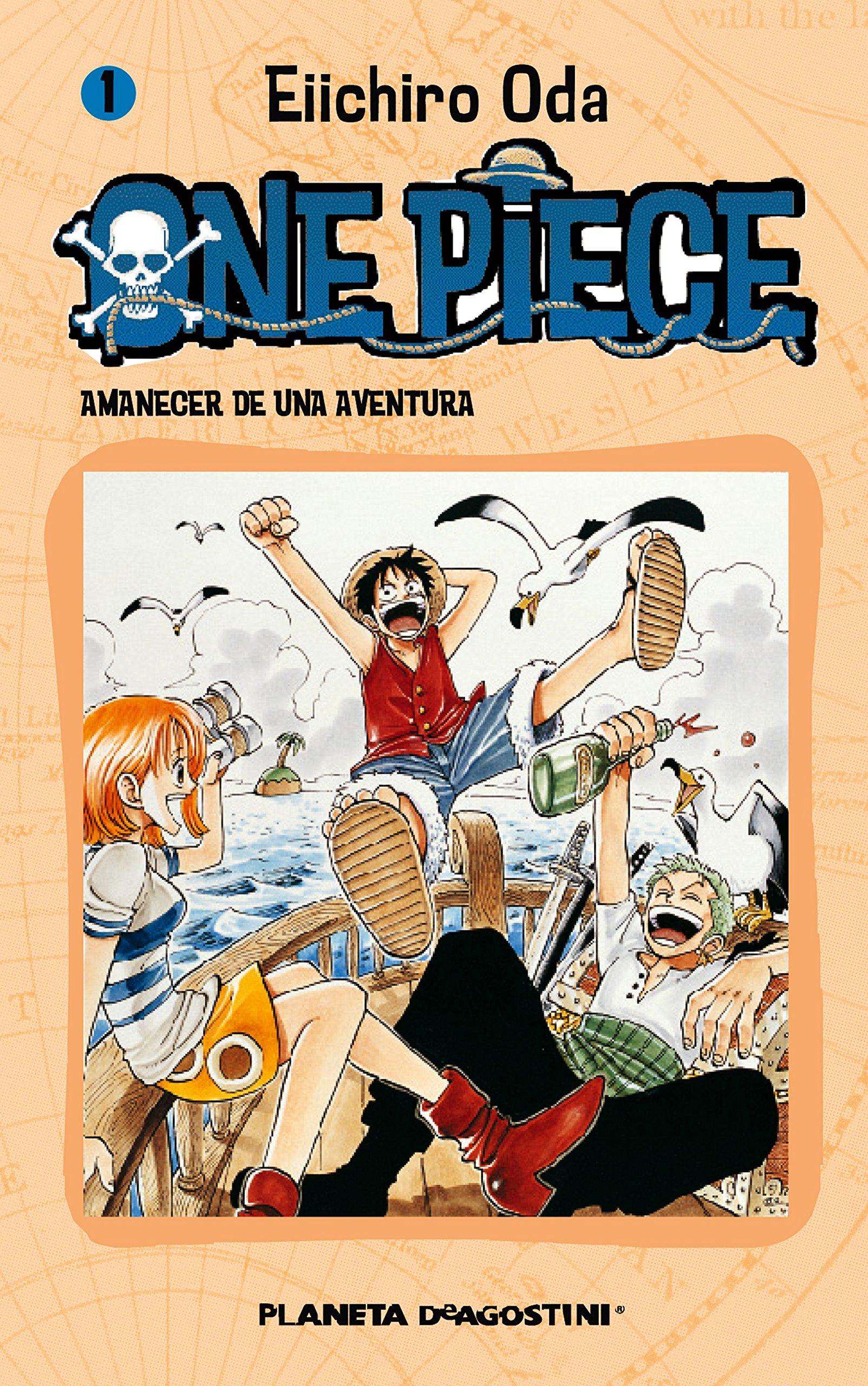 One Piece nº 01: Amanecer de una aventura (Manga Shonen) Tapa blanda – 12 nov 2004 Oda Eiichiro Planeta DeAgostini Cómics 8468471526 1850531